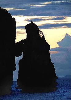 Sonnenuntergang auf Ko Phi Phi (Dezember)
