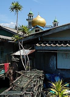 Moschee auf Panyee Island (Floating Market) (August)