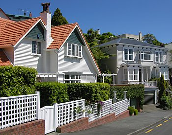 Wellington - district Kelburn