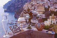 Antiquitäten in Positano (April)