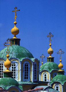 Russisches Kloster Agiou Pantheleimonos (August)