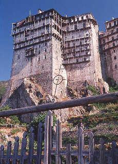 Kloster Simonopetra (Mai)