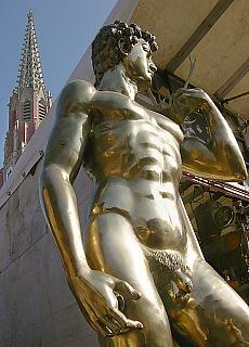 Bronzeadonis auf der Auer Dult (September)