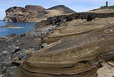 Vulkanregion Capelinhos auf Faial (Februar)
