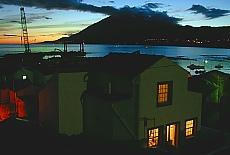 Abendstimmung in Lajes auf Pico (Oktober)