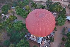 Über den Dächern von Nyaung U (März)