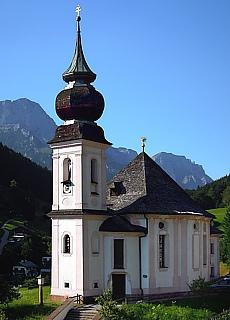 Wallfahrtskirche Maria Gern (August)
