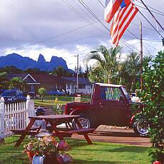 Schlafender Riese auf Kauai (Oktober)