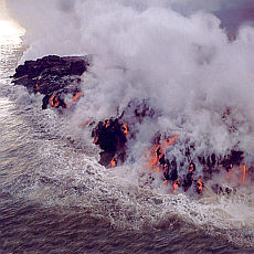 Erde - Wasser - Feuer - Luft (Januar)