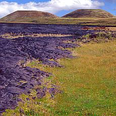 Gestoppter Lavafluss (April)