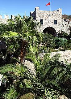 Burgruine in Marmaris (Juli)