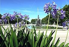 Schlosspark von Herrenchiemsee (Oktober)