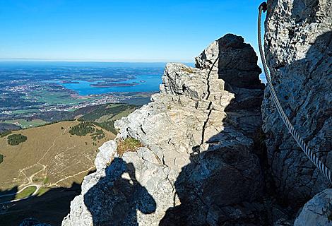 Klettersteig Chiemgau : Chiemsee kampenwand klettersteig bergwandern fotobuch in