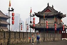 Stadtmauer von Xi'an (Juli)