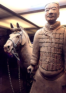 Terrakotta Armee in Xian (September)