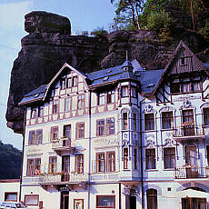 Hotel in Schmilka (Oktober)