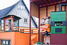 Erzgebirge Spielzeugmusseum in Seiffen (März)