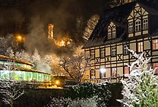 Thermalbad Wiesenbad auf dem Weg zum Cafe Sophie (November)