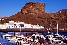Hafen von Agaete (Februar)