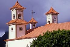Kirche in Tejeda (Juli)