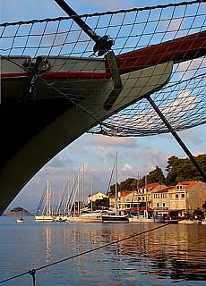Hafen auf Mljet (September)