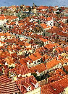 Blick auf die Altstadt von Dubrovnik (Mai)