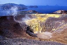 Gran Cratere auf Vulcano (Juni)