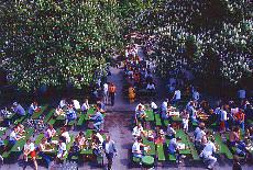 Biergarten am Chinesischen Turm (Juni)