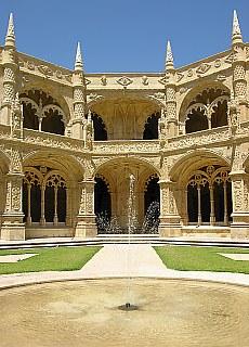 Hieronymus Kloster in Belém (Juli)