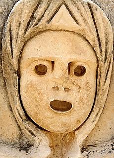 Ein Schrei nach Hilfe - Lykisches Gesicht (Juli)