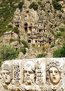 Antike Lykische Stadt Myra (Februar)