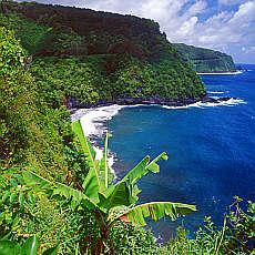 Küste bei Hana auf Maui (März)