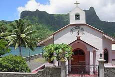 Kapelle St.Josef auf Moorea (Februar)