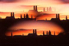 Skyline von München (Oktober)
