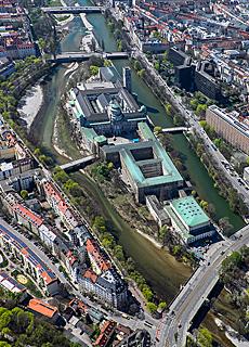 Deutsches Museum an der Isar (August)