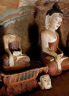 Pho Win Daung Höhlen (März)
