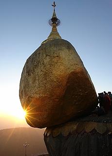 Goldener Felsen Kyaikhto (Juni)