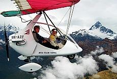 Ultralight Flug mit Avia Air Nepal (März)