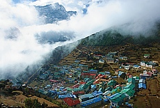 Namche Bazar (November)