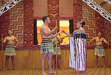 Maori Tanz in Rotorua (März)