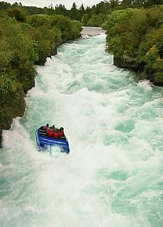 Huka Falls (Januar)