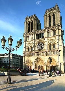 Kathedrale Notre Dame de Paris (Januar)