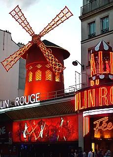 Moulin Rouge am Pigalle (März)