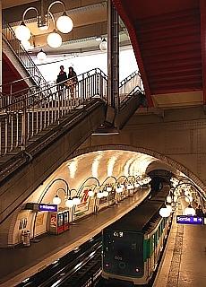 Metro Station Cité (Oktober)