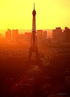Tour Eiffel vom Tour Montparnace (Juli)