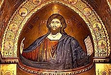 Goldene Kathedrale in Monreale (Dezember)