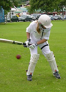 Kriket Training in Neuseeland (Oktober)
