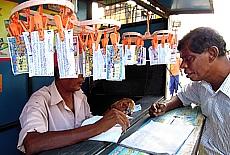 Singhalesische Lotterie (Oktober)