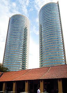 Downtown Colombo (Januar)