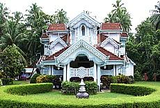 Singhalesische Jugendstilvilla (Januar)